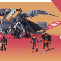 Dragon Trainer: i giocattoli della saga