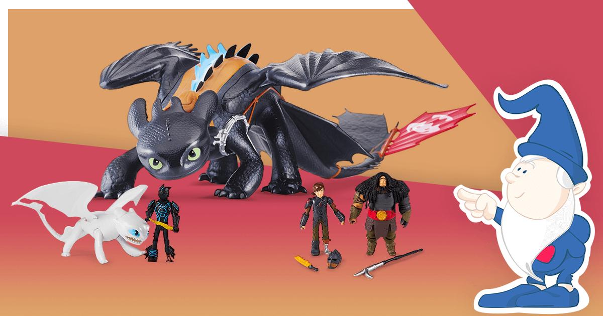 Giocattoli Dragon Trainer:  Gli Eroi Della Saga In Miniatura