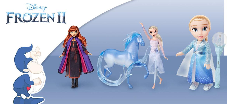 Frozen 2 Il Segreto di Arendelle: i nuovi giocattoli