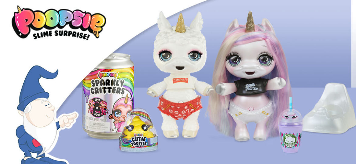 Poopsie Surprise Unicorn: cuccioli di unicorno e slime coloratissimo